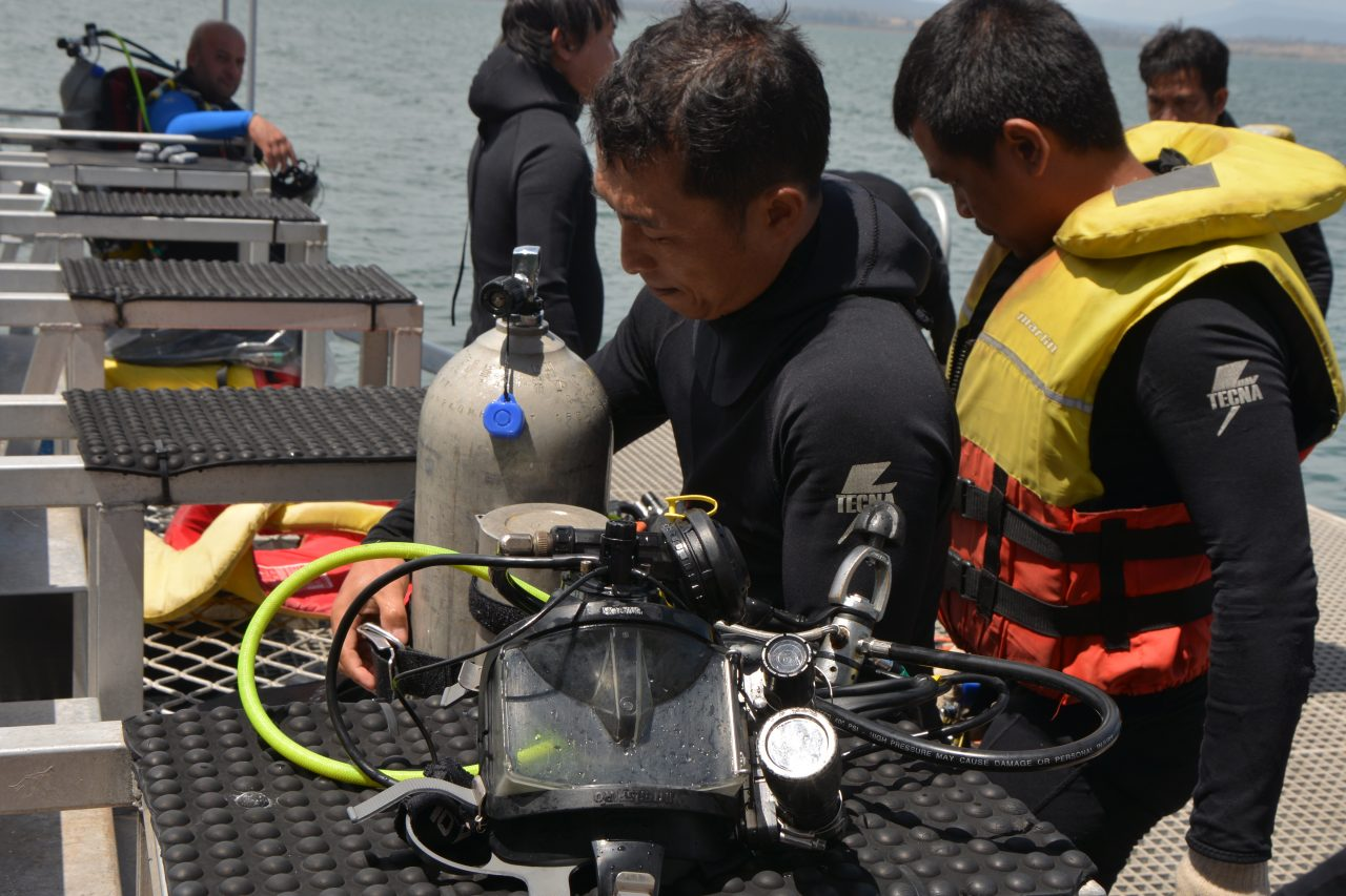 ADAS Part one Scuba and ADAS part two surface supply students